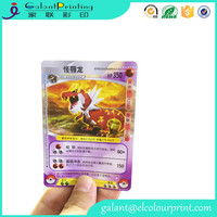 Custom thick board trading game card printing