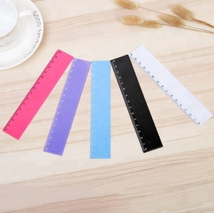 soft parallel ruler safety 6 inch plastic scale ruler