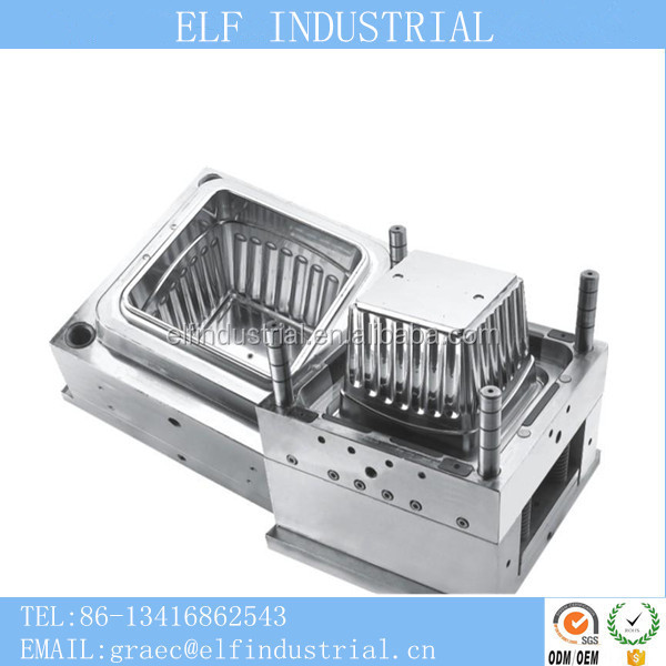 Plastic prototype injection molding companies making industrial plastic products plastic crate mould with low price
