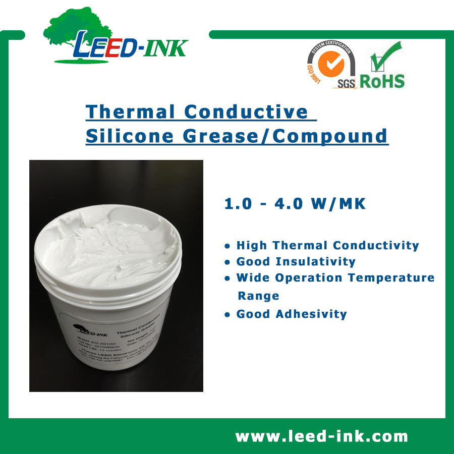 Room Temperature Storage Thermal Conducting Silica Grease for LED