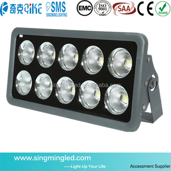 CE Rohs UL 1000w Garden Led Flood Light 1000w Led Reflector Floodlight  Outdoor Led Lamp