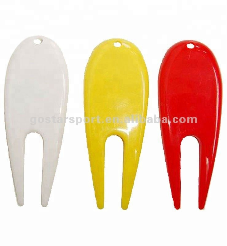 Colorful Plastic Golf Divot Tool