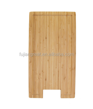Bamboo Griddle Cover/Cutting Board for Viking Cooktops, New Vertical Cut, Small