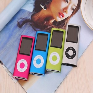 AAA battery TF card slot supported mp3 player with display screen music man mp3 player
