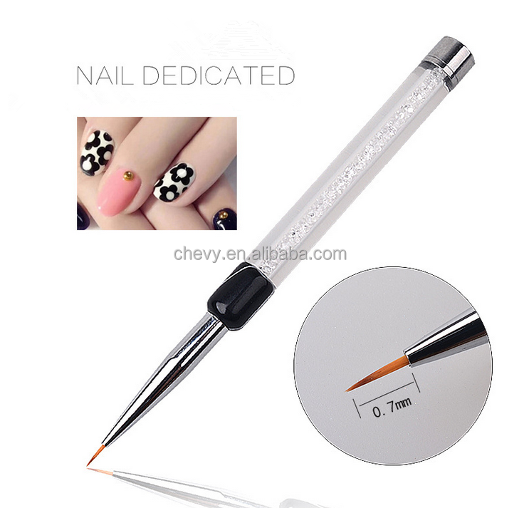 Accept Print Logo Nail Art Draw Pen Nail Art Draw Line Pen Different Size Nail Art Dotting Pen