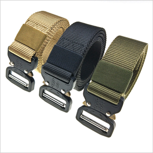 "Nylon military tactical belt Webbing Material and Cobra Buckle 1.5"" Buckle Belt with cobra buckle"