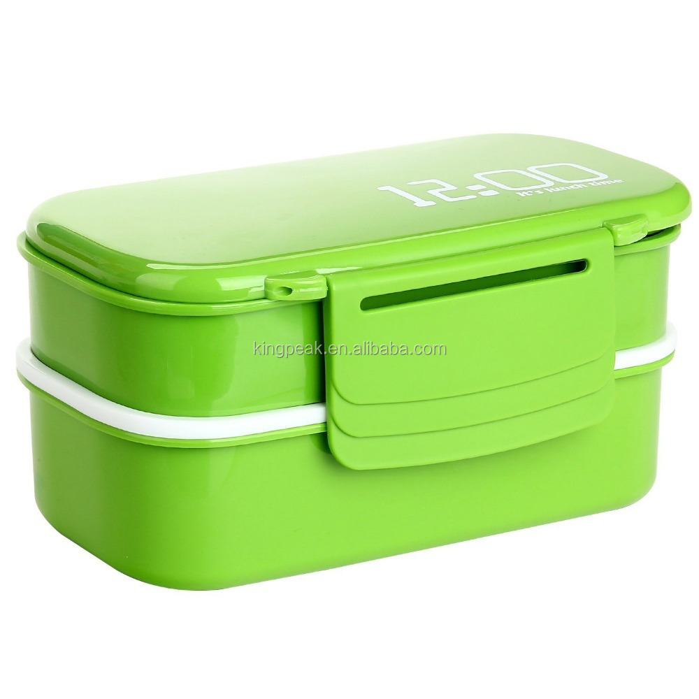 2015 Best Selling Plastic Lunch Bento Box Kids Lunch Box