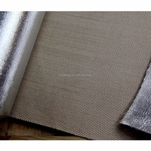 thermal insulation laminated fabric 0.1mm aluminum foil fiberglass