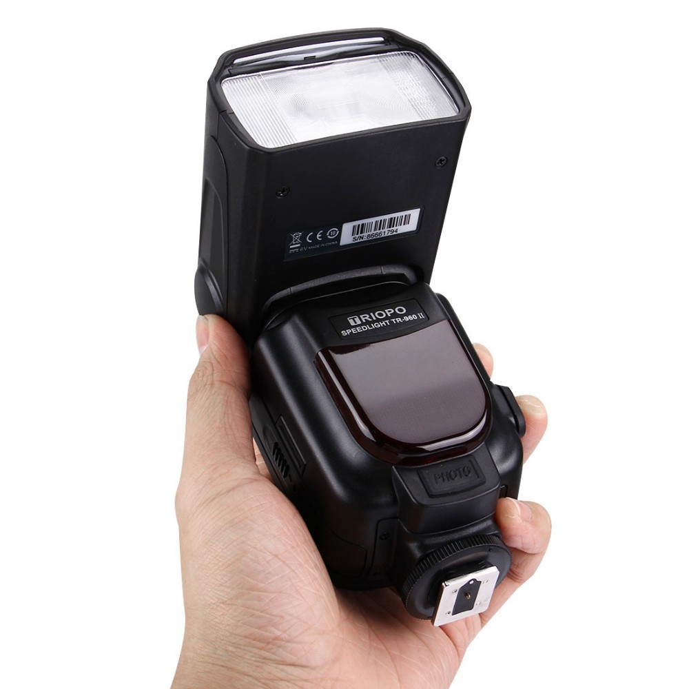 TRIOPO TR-960II camera Speedlite flash light manual flash for Nikon Canon Pentax DSLR Camera