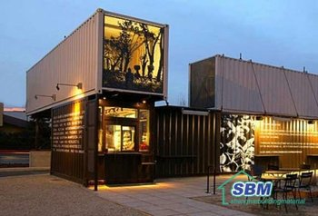Prefabricated container house villa buy prefabricated for Villa container