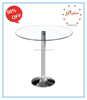 modern kitchen furniture glass dining table, dining room furniture