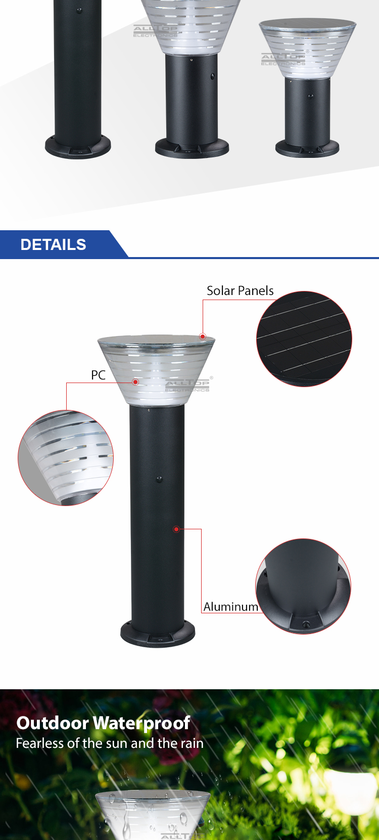 bright solar lights for yard-13