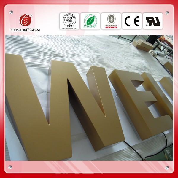 outdoor frame decorative metal signs