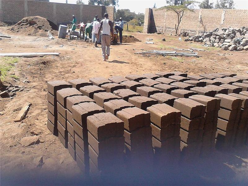 earth brick machine