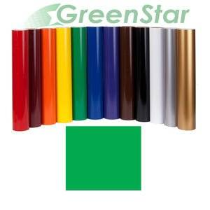"""Greenstar Green Sign Vinyl 24"""" x10Yd, Graphics and Lettering for Interior and Exterior Application"""