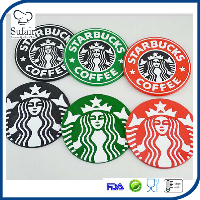 starbucks cup pads silicone drink coaster