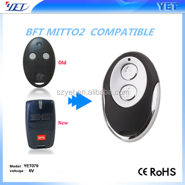 bft mitto 2 gate garage compatible remote control replacement keyfob transmitter