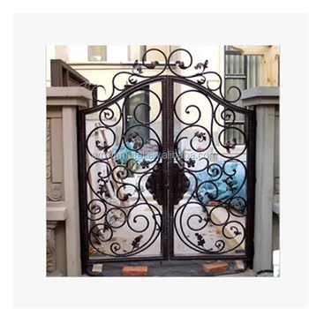 Uk Main Gates Cast Iron Factory Garden Style Wrought Gate And Fence Luxury