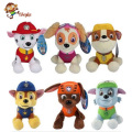 20 30cm Canine Patrol Dog Toys Russian Anime Doll Action Figures Car Patrol Puppy Toy Patrulla
