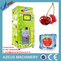 Automatic coin operated ice vendor for fresh fruits and vegetables