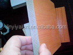 melanin MDF board for furniture from China MDF board factory
