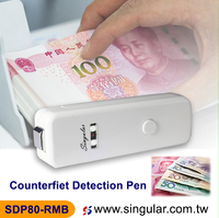 2 in 1 Mini Counterfeit money Dollar Bill Detector all Fake Currency