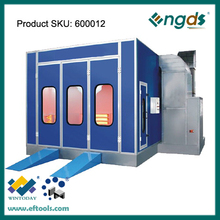 Normal size infrared heating positive mobile commercial spray booth