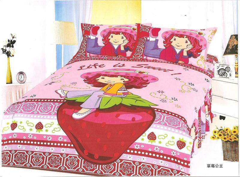 Popular Strawberry Shortcake Twin Bedding Set-Buy Cheap