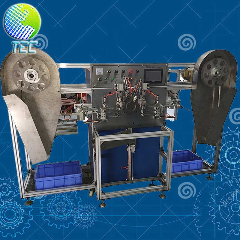 Double-deck Automatic Toroidal Amorphous Core Winding Machine