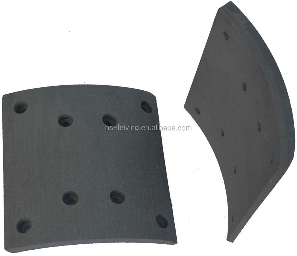brake lining with non asbestoes for copettive price