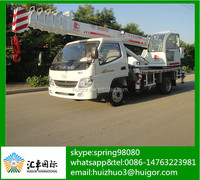 Powerful Diesel /Electrical Motor Driving Mobile Small Truck Crane with Lowest Price
