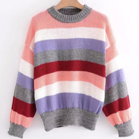 Guangdong Sweater Factory Women Round Neck Cashmere Cardigan