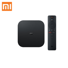 Neue Ankunft Globale Version Xiaomi Mi Box S mit 4 karat HDR Android 8.1 <span class=keywords><strong>TV</strong></span> <span class=keywords><strong>Streaming</strong></span> Media Player