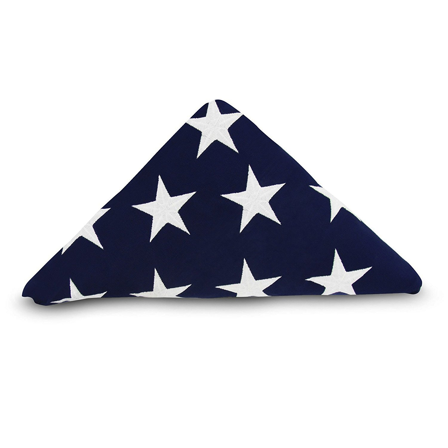 0c1416e7aa45 Get Quotations · Anley Memorial Flag American US Flag 5x9.5 Foot Heavy Duty  Cotton for Veteran -