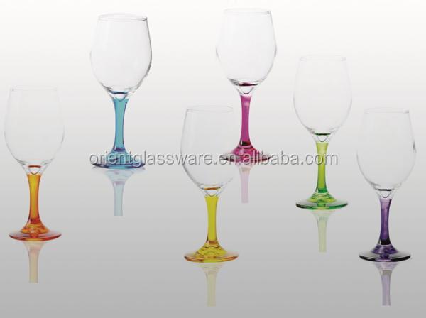 Wholesale 6pcs Wine Glass Goblet Crystal Wine Set Drinking