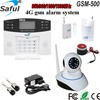 Saful GSM-500 Home Security LCD Display GSM Intelligent Alarm System