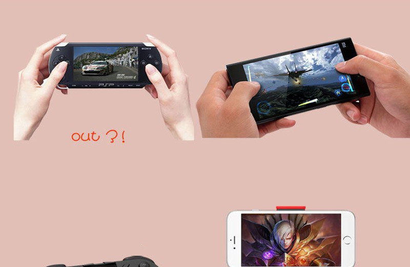 2017 Gamepad Android Joystick Bluetooth Controller Selfie Remote Control Shutter Gamepad for iPhone Andriod for PC Smart Phone