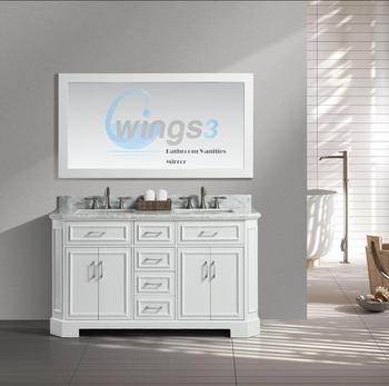 Superbe 60 Inch Bathroom Vanity Double Sink Vanities Cabinet | WINGS3