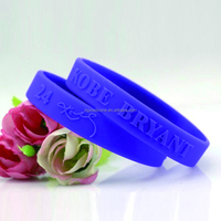 wholesale OEM custom cheap silicone bracelet wristband with high quality