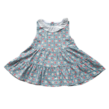 OEM/ODM casual wear toddler dresses casual baby girl dress items clothes gown 1985