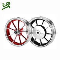 2.15*10 Inch Motorcycle Rim Aluminium Alloy Wheels For JOG DIO Scooter