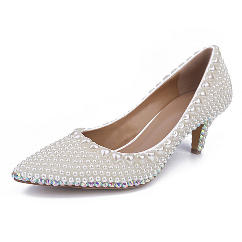 Ivory Kitten Heel Shoes Uk