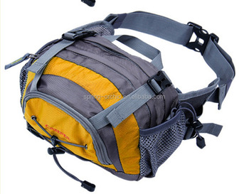 Fashionable lightweight nylon travel sports waist bag