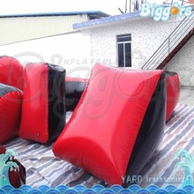 Cheap Customized Inflatable Mini Brick Paintball Bunkers
