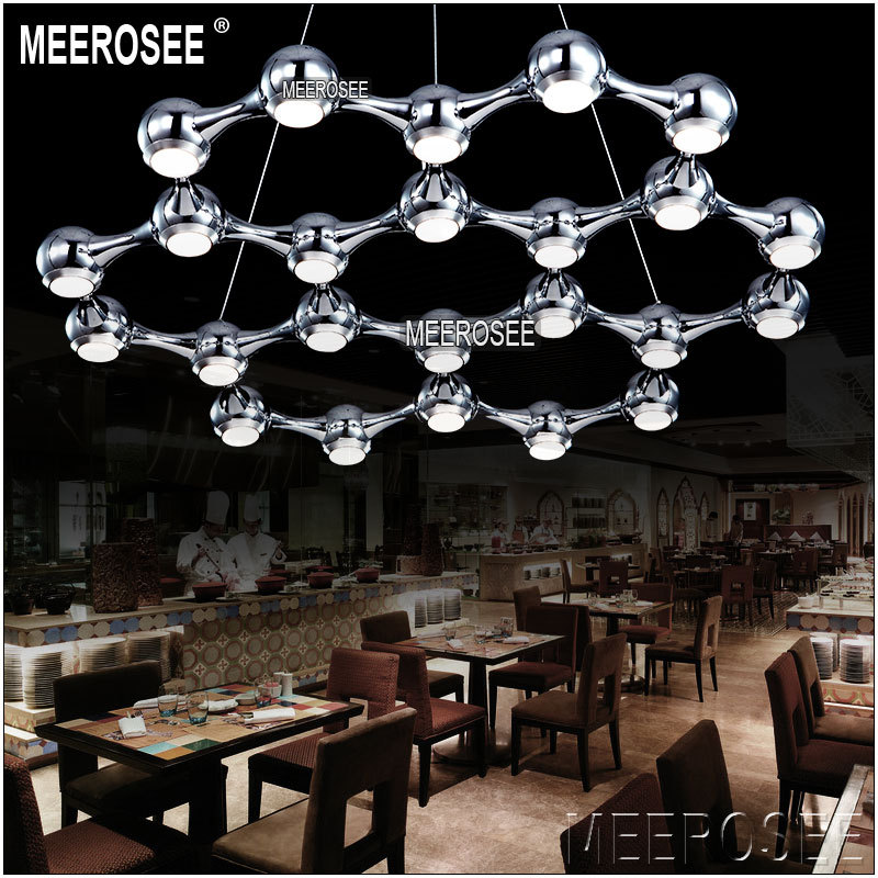 Meerosee Italian New Design Modern Led Chandelier Lamp Suspension - Italian light fixtures