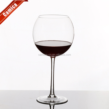 720ml 20oz Wine Goblet With Tall Stem Crystal Red Gl