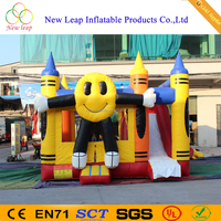 Commercial Inflatable jumping bouncer/moonwalk Bouncy slide
