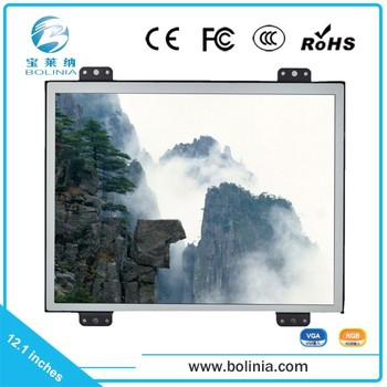 China Supplier 12.1 Inch Lcd Display Open Frame Monitor