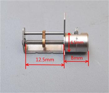 Miniatur 2-phasen 4-draht Rutsche Schraube Schrittmotor ...