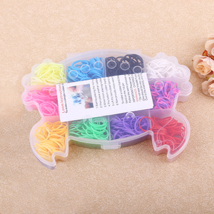 600pcs Loom Bands crab-box kit